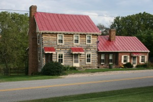 1794 Kerr's Log cabin
